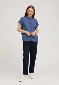 ARMEDANGELS - ZONJAA - Button-down blouse - foggy blue - 1