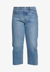 Levi's® Plus - 501® CROP - Straight leg -farkut - blue denim - 4