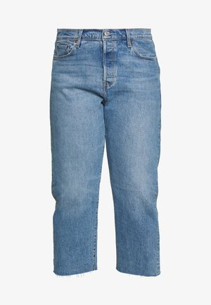 501® CROP - Jeans straight leg - blue denim