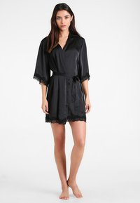 Anna Field - Dressing gown - black - 1