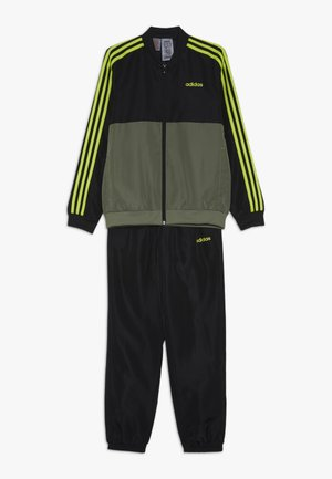 SET UNISEX - Tracksuit - legend green/black