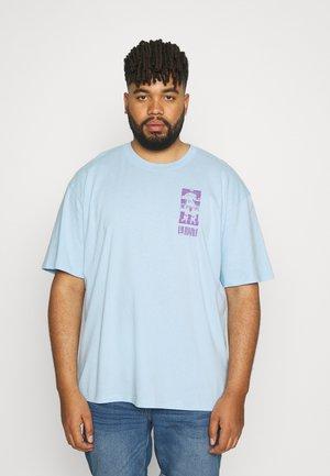 TAROT DECK - Print T-shirt - light blue