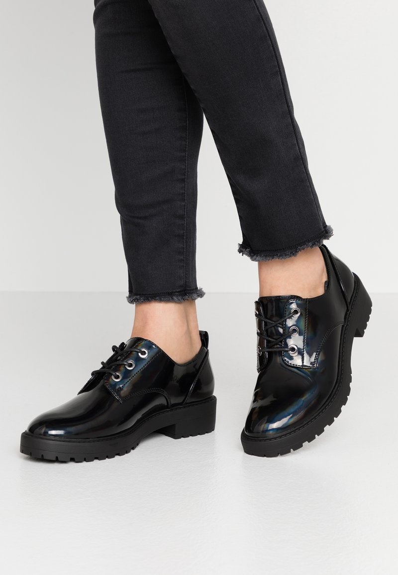 Even&Odd - Šněrovací boty - black