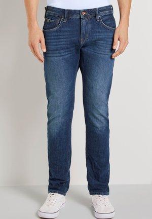 STRAIGHT FIT AEDAN - Straight leg jeans - used mid stone blue denim