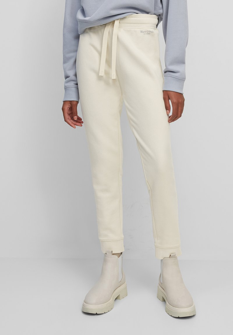 Marc O'Polo - Tracksuit bottoms - beige