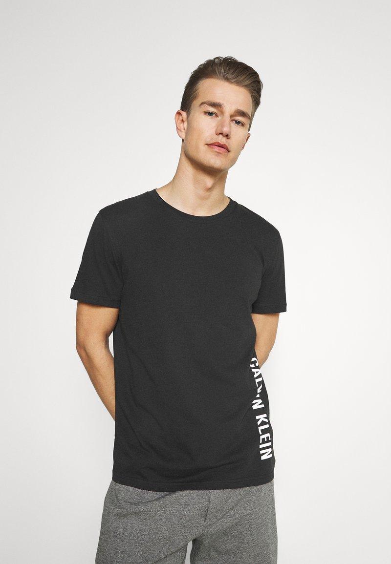 Calvin Klein Swimwear - INTENSE POWER CREW TEE - Undershirt - black