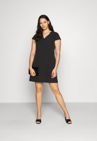 CAPSULE by Simply Be - TAILORED DRESS - Shift dress - black - 1