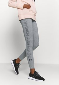 Under Armour - FAVORITE LEGGINGS - Punčochy - carbon heather - 0