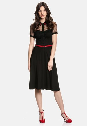 BRITISH  - Shirt dress - schwarz