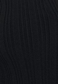 Proenza Schouler White Label - ZIP CARDIGAN - Strickjacke - black - 2
