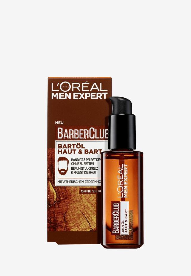 BARBER CLUB BART OIL - Baardolie - -