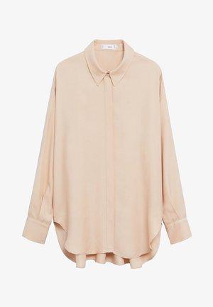 NETA - Button-down blouse - nude