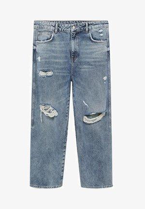 Jeans straight leg - mittelblau