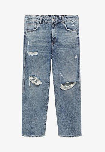 Straight leg jeans - mittelblau