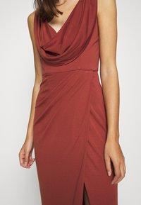 LEXI - NAIDA DRESS - Occasion wear - terracotta - 5