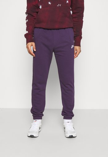 CLUB PANT - Träningsbyxor - grand purple/grand purple/white
