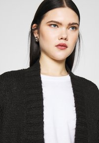 Vero Moda - VMKAKA OPEN COATIGAN  - Cardigan - black - 3