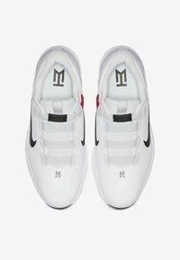 Nike Golf - TIGER WOODS - Golfskor - white/metallic cool grey/pure platinum/black - 1