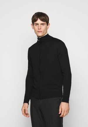 ZIP JACKET - Cardigan - black