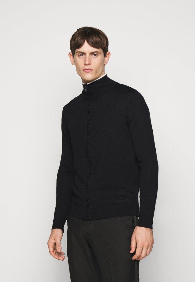 ZIP JACKET - Cardigan - black