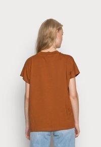Weekday - PRIME - Basic T-shirt - dark orange - 2