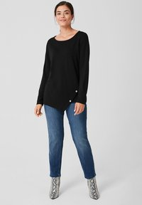 Triangle - Long sleeved top - black - 1
