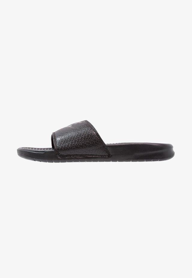 BENASSI JDI - Sandales de bain - schwarz