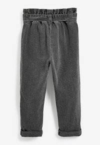 Next - PAPERBAG  - Straight leg jeans - grey - 1