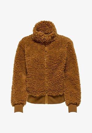 Zip-up hoodie - cathay spice