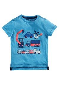 Next - FIVE PACK - T-shirt print - blue - 1