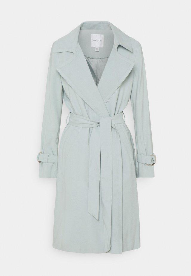LISA SOFT - Trenchcoat - soft green