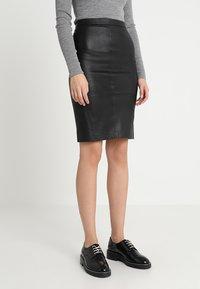 DAY Birger et Mikkelsen - PLONGY - Pencil skirt - black - 0