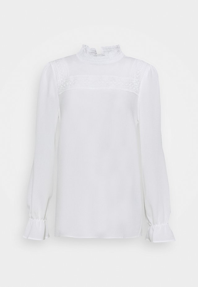FEMININ DETAILED - Blouse - offwhite