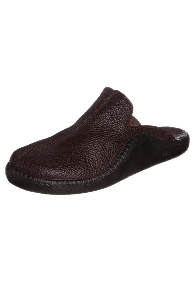 MOKASSO - Slippers - mokka