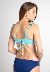 Lauren Ralph Lauren - UW SURPLICE BRA - Bikini top - aquarius - 2