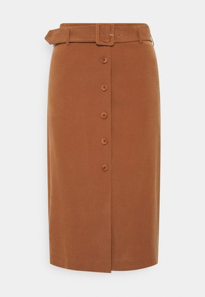 SKIRT - Pencil skirt - toffee