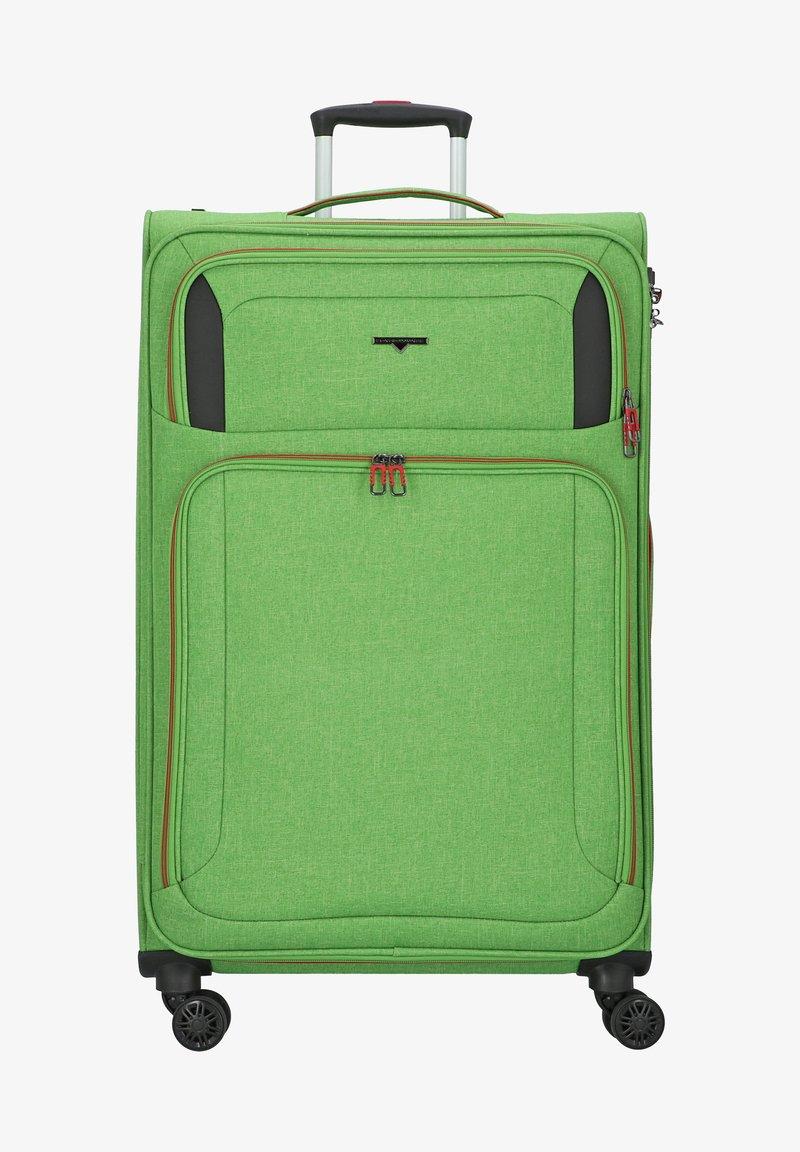 Hardware - Wheeled suitcase - bright green