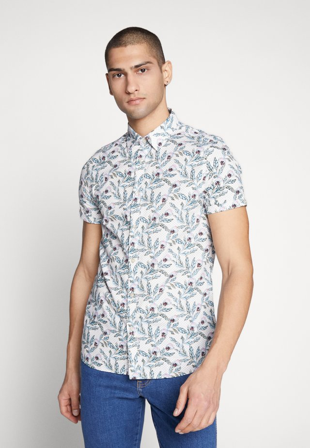 KANO BOTANICAL PRINT - Camisa - natural