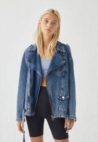 PULL&BEAR - Denim jacket - blue denim - 0