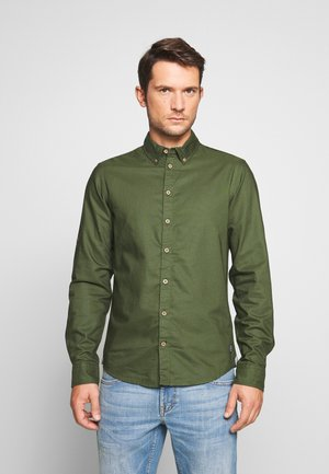 Overhemd - forest green