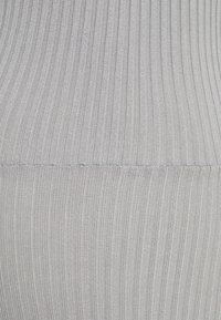 Missguided Tall - TIE BACK DRESS - Jumper dress - grey - 2