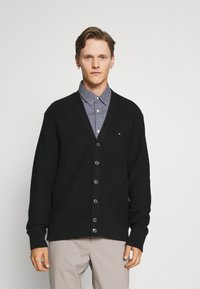 Tommy Hilfiger Tailored - RACKED  - Cardigan - black - 0