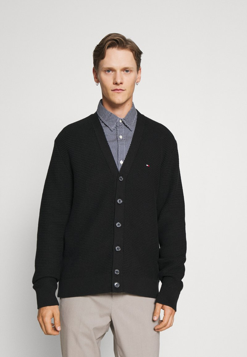Tommy Hilfiger Tailored - RACKED  - Cardigan - black