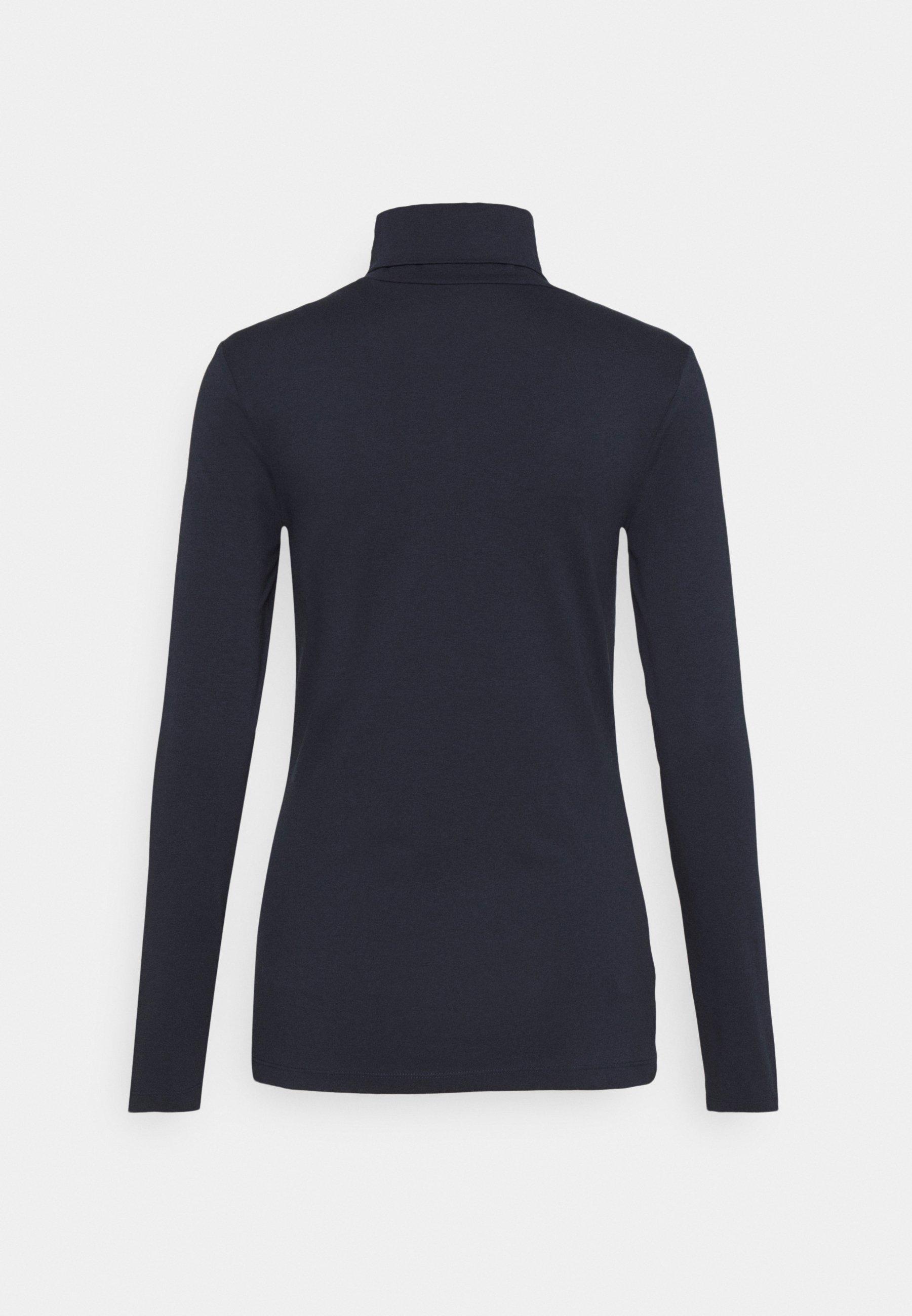 Esprit Core - Topper Langermet Navy/mørkeblå