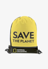 National Geographic - Drawstring sports bag - gelb - 0