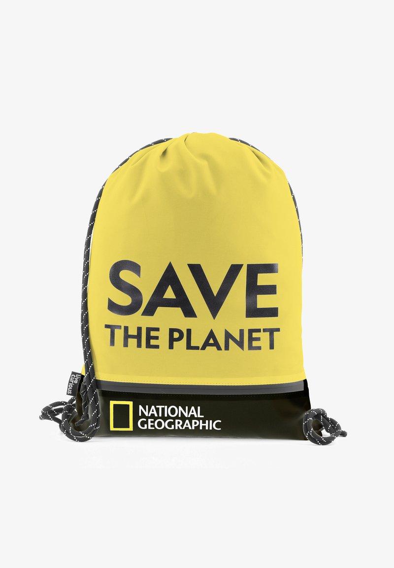 National Geographic - Drawstring sports bag - gelb