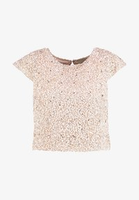 Lace & Beads - PICA  - Bluse - nude - 5