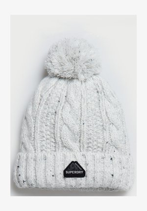 GRACIE  - Beanie - winter white tweed