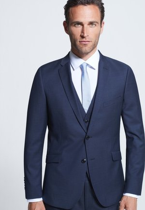 ALLEN - Blazer jacket - navy mottled