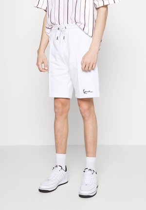 SMALL SIGNATURE - Shorts - white